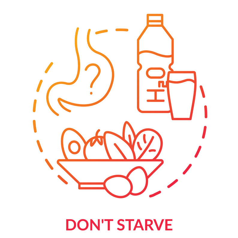 Don't starve during the day
