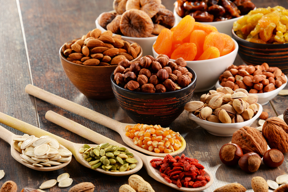 Dry fruits and nuts