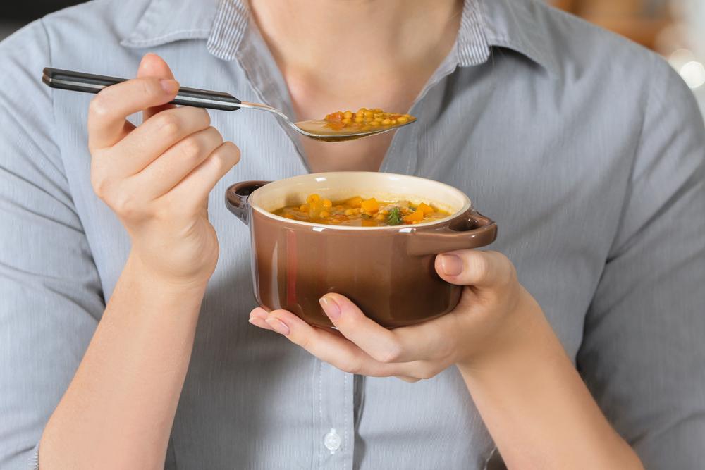 benefits of lentil soup