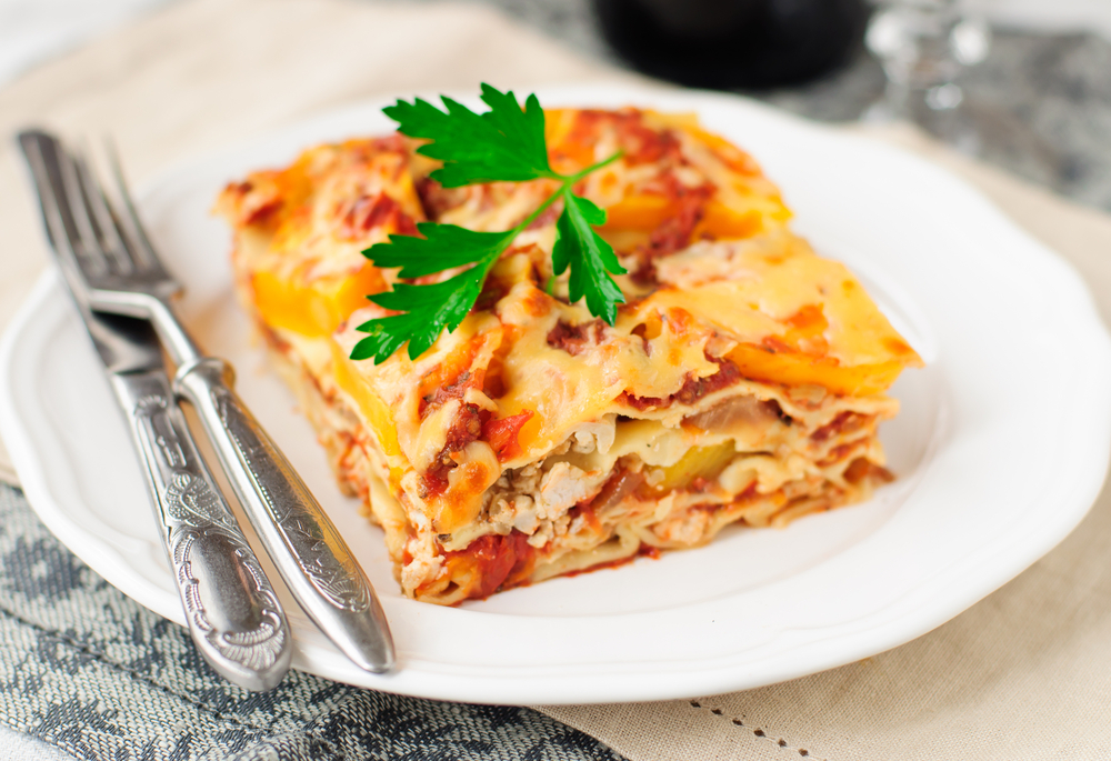 Squashed Lasagne