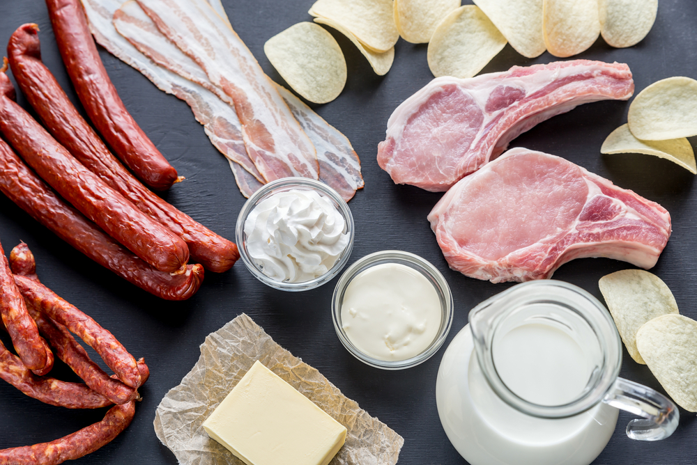 examples of saturated fats?